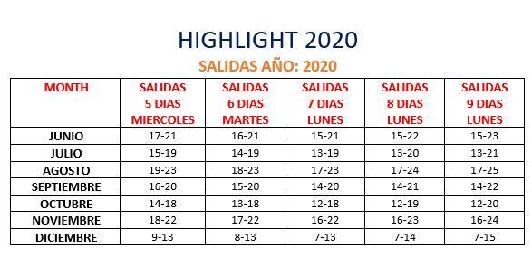 2020 highlight es